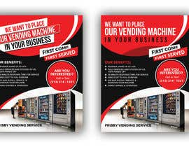 #63 for Design a Flyer For A Vending Machine Company by siambd014