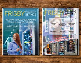 #204 for Design a Flyer For A Vending Machine Company by dnamalraj