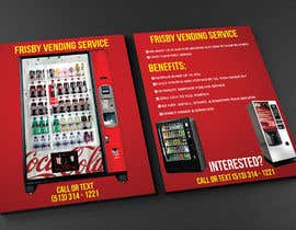 #47 for Design a Flyer For A Vending Machine Company by mnagm001