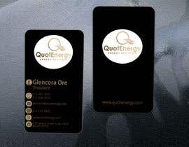 #258 untuk Vertical Business card for Energy firm oleh graphictania