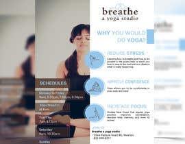 #8 untuk I need some Graphic Design for a yoga studio oleh smileless33