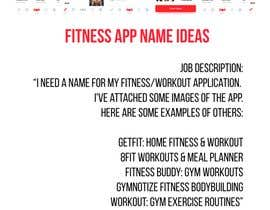 I Need An Idea For The Name Of My Fitness Application Freelancer