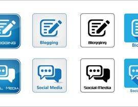 #6 para Web and Online Marketing Icon Design Set por shaggyshiva