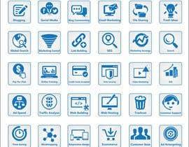 #9 para Web and Online Marketing Icon Design Set por shaggyshiva