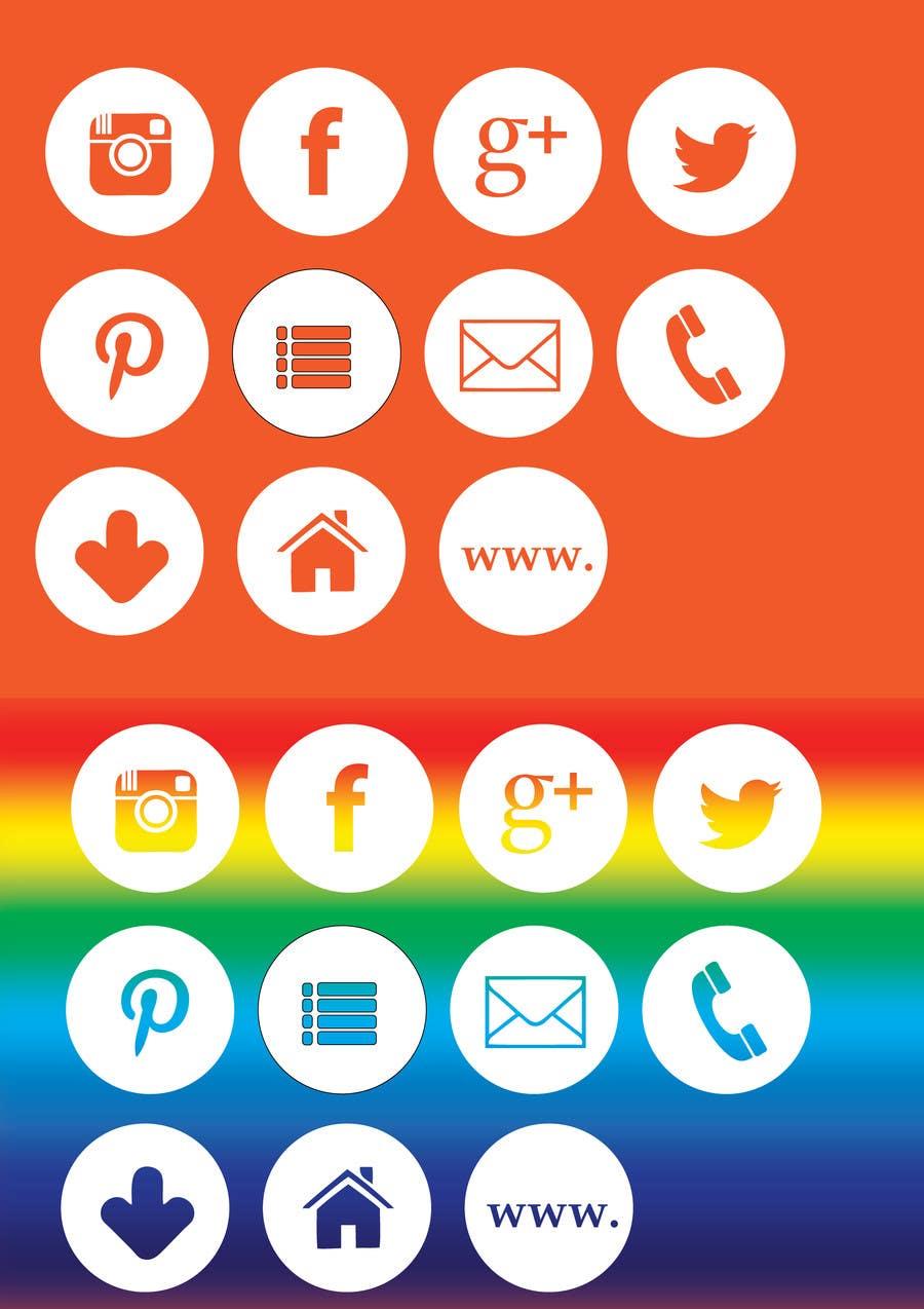 Inscrição nº                                         4                                      do Concurso para                                         Web and Online Marketing Icon Design Set