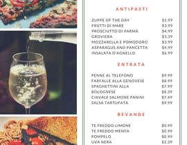 #16 for Design restaurant table menu by ardiansyah123