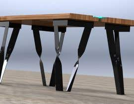 #70 for 6x Table legs  in steel (   Photorealistic Rendering ) by fersal93
