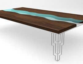 #90 for 6x Table legs  in steel (   Photorealistic Rendering ) af Moshaf3