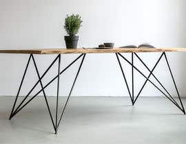 #57 for 6x Table legs  in steel (   Photorealistic Rendering ) by coc3dart