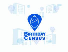 #63 for Birthday Census Logo by desperatepoet