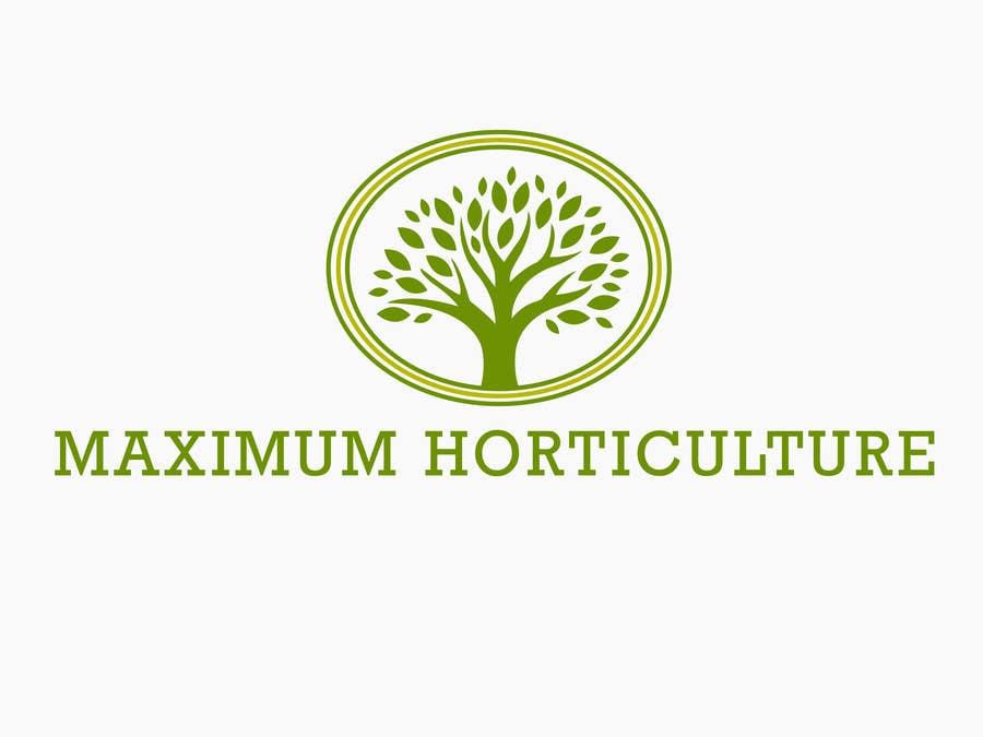 Penyertaan Peraduan #                                        3                                      untuk                                         Design a Logo for my horticulture company