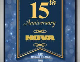 #8 for Nova 15th Anniversary Flyer by vaishaknair
