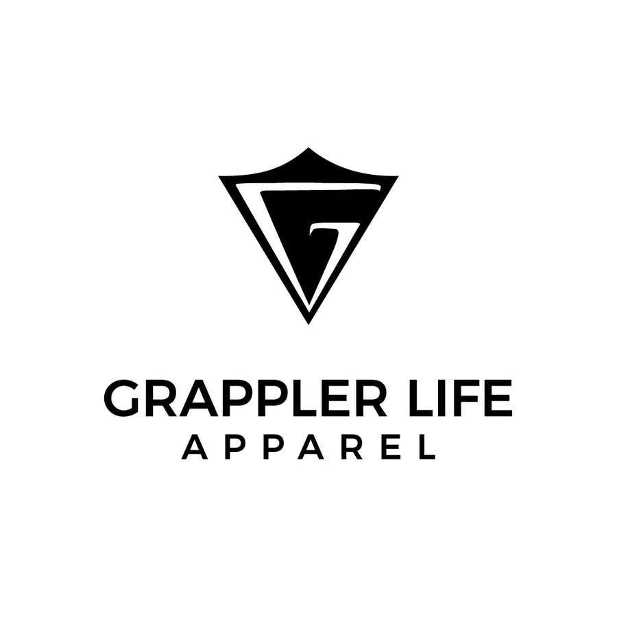 Contest Entry #11 for I need a simple one color logo designed for a clothing line.  The logo needs to be simple but yet recognizable once the customer has seen it.  I do not want letters or the name in the logo.  www.zazzle.com/grappler_life