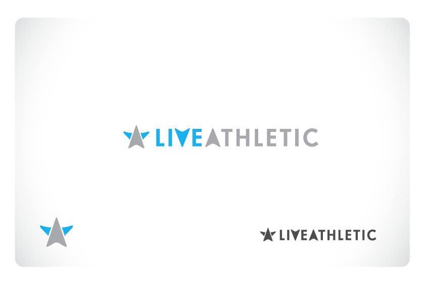 Kilpailutyö #894 kilpailussa Logo Design for LIVE ATHLETIC