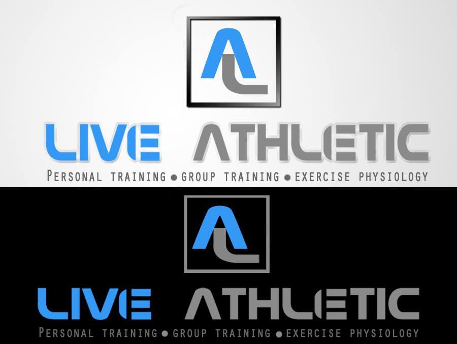 Kilpailutyö #819 kilpailussa Logo Design for LIVE ATHLETIC