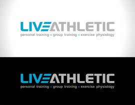 #533 untuk Logo Design for LIVE ATHLETIC oleh sourav221v
