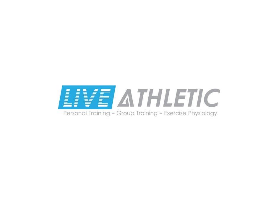 Kilpailutyö #772 kilpailussa Logo Design for LIVE ATHLETIC
