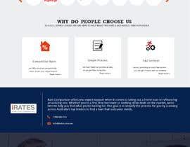 #94 for Design a Website Mockup by Dineshaps