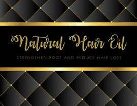 #4 for Create a Design for Natural Hair oil box by NURHAFIZAH5450