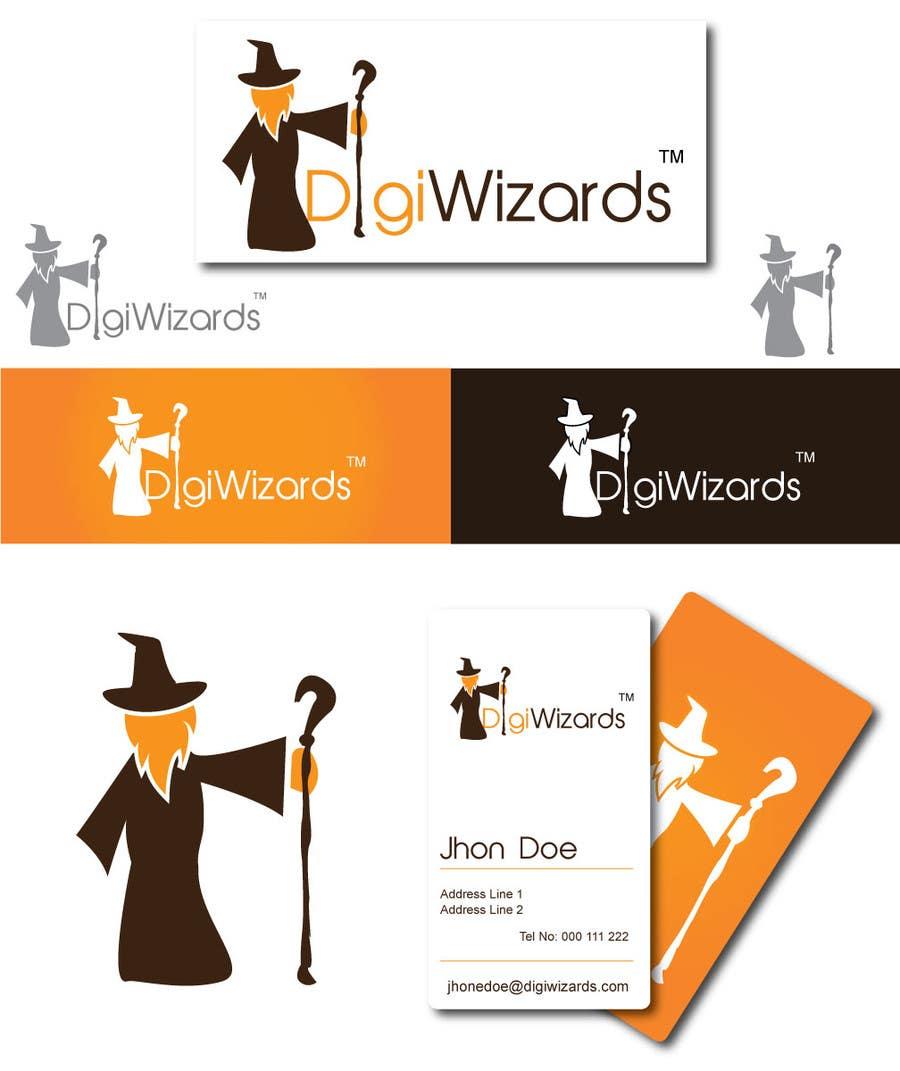 Конкурсная заявка №548 для Logo Design for DigiWizards