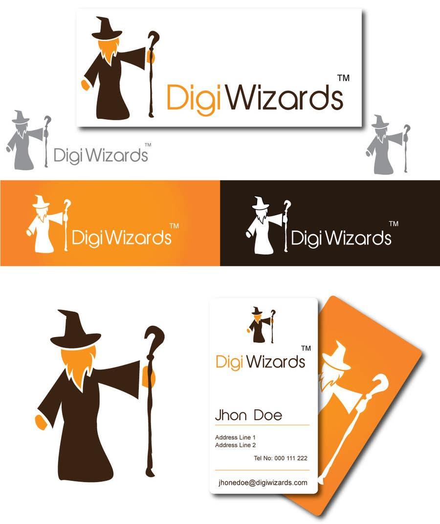 Конкурсная заявка №573 для Logo Design for DigiWizards