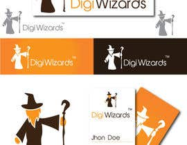 #573 for Logo Design for DigiWizards by akshaydesai