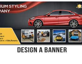 #17 for Design a Step and Repeat BANNER for my car company by Tashir786