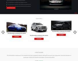#13 dla Design a Website Homepage (just a jpg design) przez Sharif1122