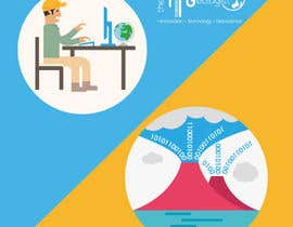 #26 untuk The ITGeologist - Logo design, Images/ cartoons for website, Style guide for website oleh Yohanna2016
