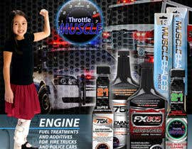 #50 for Advertisement Design for Throttle Muscle by F5DesignStudio