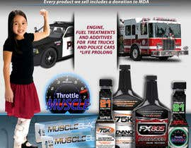 #25 para Advertisement Design for Throttle Muscle por F5DesignStudio