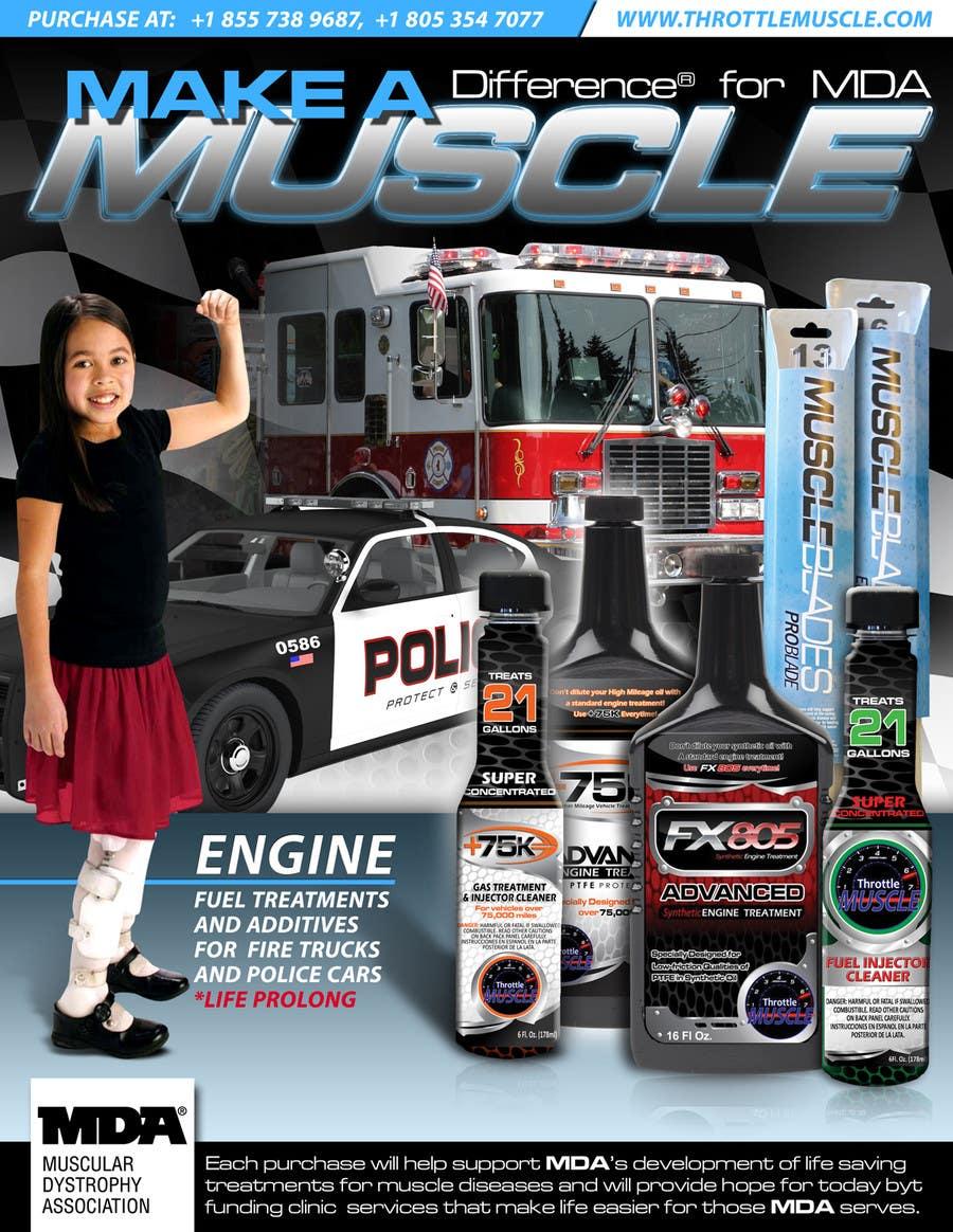 Penyertaan Peraduan #                                        21                                      untuk                                         Advertisement Design for Throttle Muscle