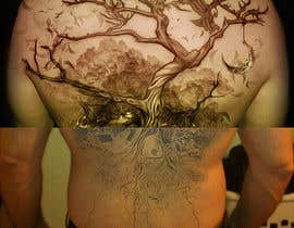 Nro 15 kilpailuun Design a huge tattoo for my back - starting with what I already have... käyttäjältä Kindland