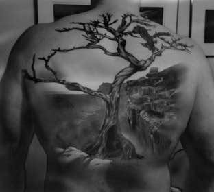#18 for Design a huge tattoo for my back - starting with what I already have... by frontendguru