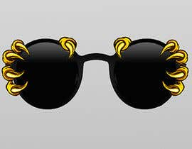 #19 dla Graphic Design Of Sunglasses Needed przez engabousaleh