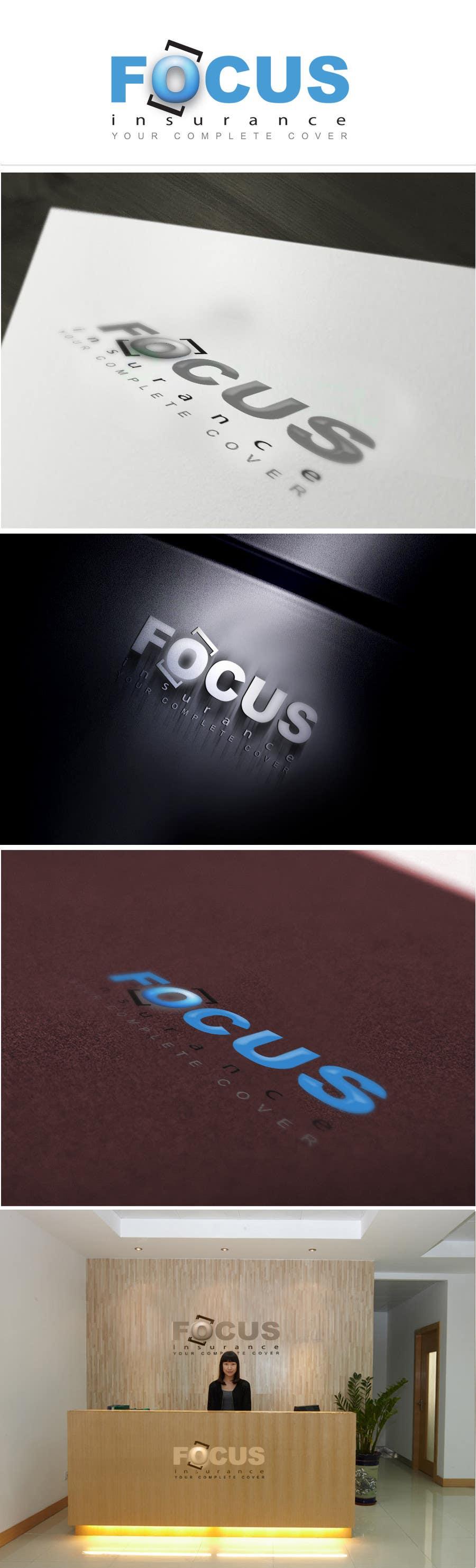 #120 for Logo Design for Focus Insurance by vigneshsmart