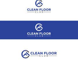 #33 for CLEAN FLOOR CLUB Logo Design by Tusareduc