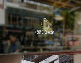 "adarshdk tarafından Design a Logo for a coffee shop called ""NEGRO CORAZÓN"" (black heart) için no 85"