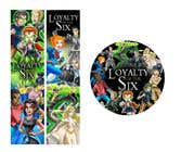 Design 2 Bookmarks and 1 Sticker for a new Children's Fantasy Novel için Graphic Design3 No.lu Yarışma Girdisi