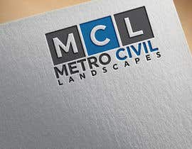 #48 for Metro Civil Landscapes Logo by mpmony50