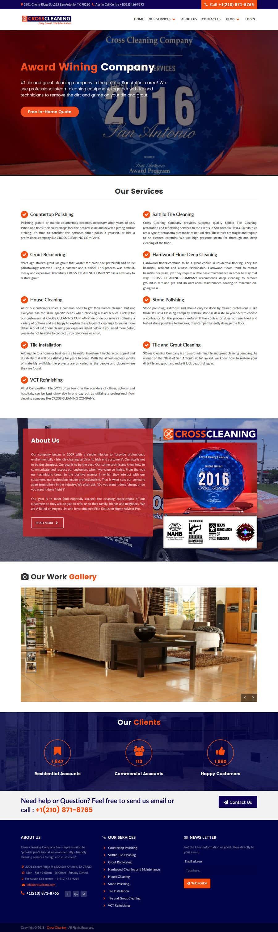 Kilpailutyö #34 kilpailussa Wow Me with Creative Redesign of Wordpress Website