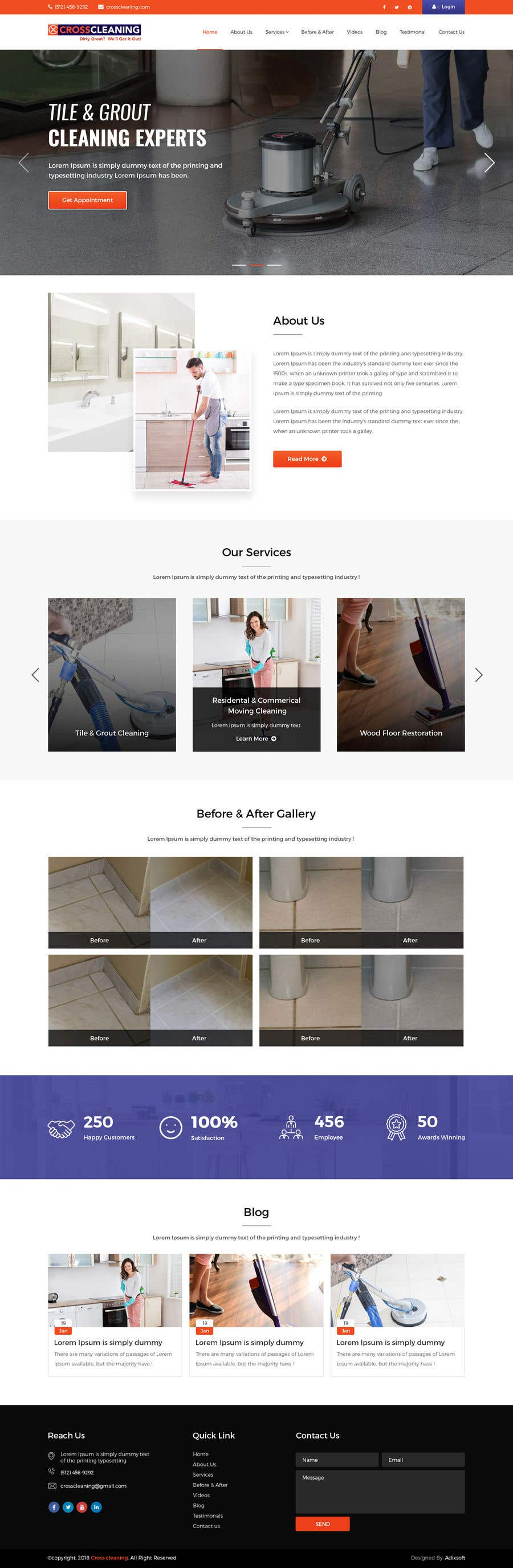Kilpailutyö #10 kilpailussa Wow Me with Creative Redesign of Wordpress Website