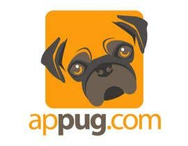 "#2 untuk ""Pug Face"" logo for new online messaging service oleh kimberart"
