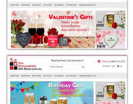 #35 for Valentines Day Website Banners & Birthday by shrabanty