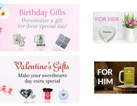 #32 for Valentines Day Website Banners & Birthday by Anetadud