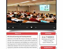 "nº 56 pour Website Design for Seminar: ""Putting Assessment and Feedback at the Center of Student Learning"" par logitac"