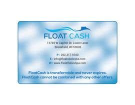 Propergraphic tarafından Design some rewards cash for a float business- EASY & CREATIVE için no 6