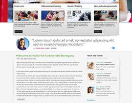 #12 para Wordpress Theme Design for Institut für funktionelle Bewegung por gaf001