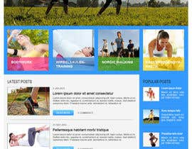 nº 15 pour Wordpress Theme Design for Institut für funktionelle Bewegung par adeptcode