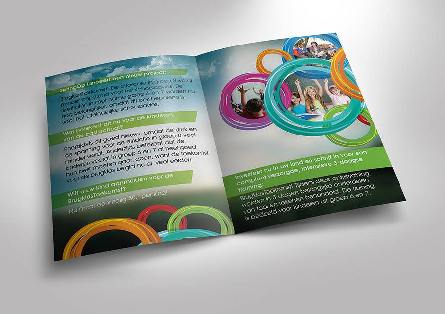 Entry by samehsos for design a brochure for kids in primary